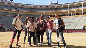 Spanish Course: Spanish student groupe in the Ventas