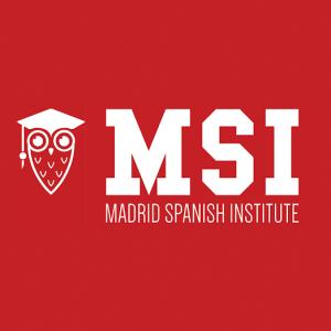 Cours d´espagnol à Madrid: Loga de notre partenaire Madrid Spanish Institute