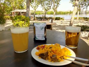 Tapas and restaurants in Madrid: beers and paella at the Urogallo