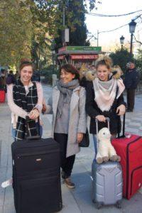 Stage à Madrid: accueil des étudiantes par leur famille à Madrid