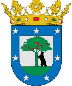 Symbols of Madrid: Shield of Madrid City