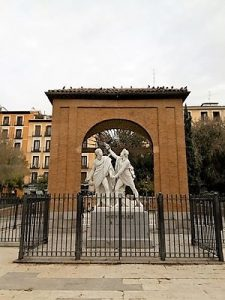 Madrid Quiz: 2nd of May Square, in Malasaña area