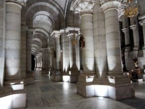 Madrid Quiz: Crypt of Almudena Cathedral