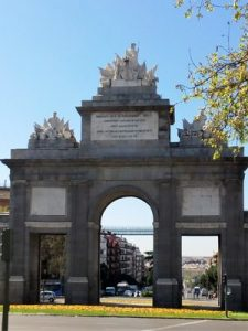 Madrid Quiz: city entrance Puerta de Toledo