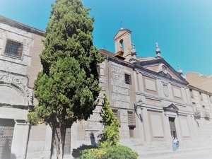 Madrid Quiz: front of the Descalzas Convent