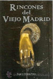Madrid Letters: cover of Angel Olivares Prieto´s book