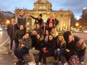 School trip in Madrid