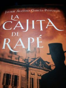 Madrid Letters: cover of the book La Cajita de Rapé