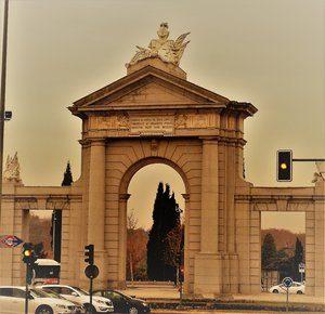 Nuestro juego Madrid Quiz: Puerta de San Vicente