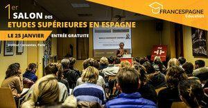 Faire des études en Espagne: affiche de Francespagne Education